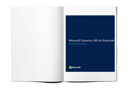 Microsoft Dynamics 365 for Financials Capabilities Guide